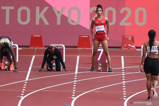 Alvin finis di posisi terakhir pada babak pertama Olimpiade Tokyo