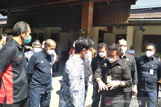Menteri Pertanian beri bantuan alsintan kepada Pemkot Surakarta