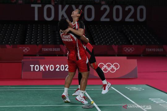 Greysia/Apriyani tembus final Olimpiade Tokyo