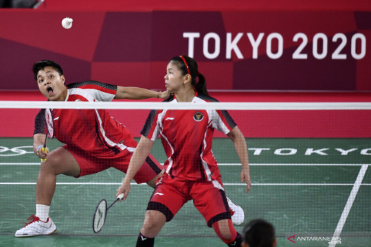 Ketenangan jadi kunci Greysia/Apriyani menangi semifinal Olimpiade Tokyo