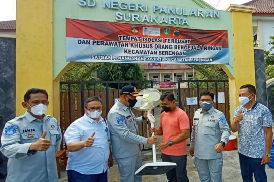 PT Jasa Raharja bantu fasilitas untuk rumah isoman terpusat di Solo