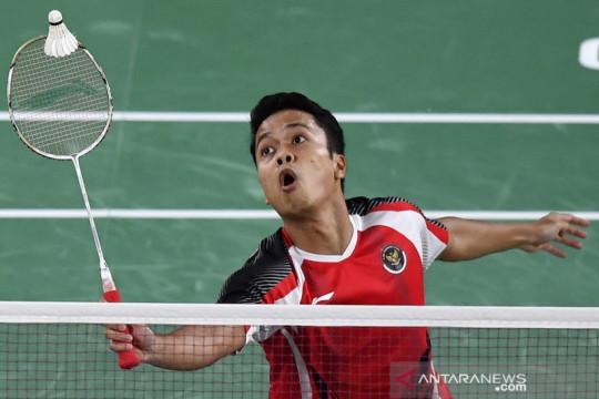 Kerja keras Ginting dipatahkan Chen Long