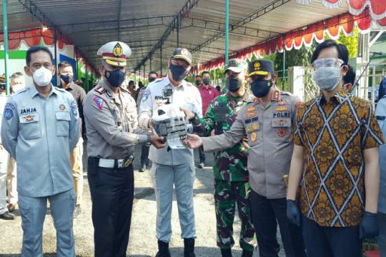Jasa Raharja serahkan helm Kopek untuk Polda Jateng