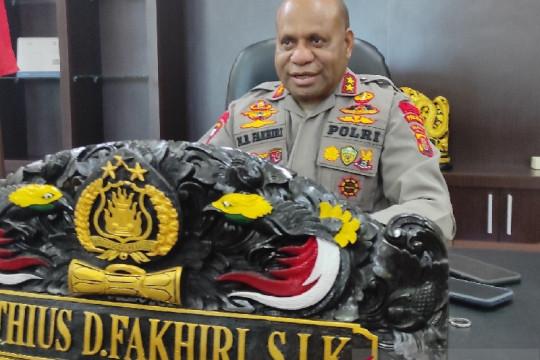 Polsek Nimboran Papua dibakar