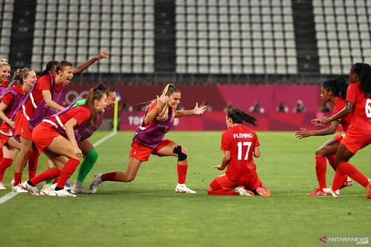 Kalahkan Amerika Serikat 1-0, Kanada melaju ke final Olimpiade