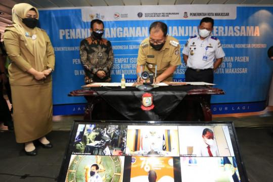 Pemkot Makassar-Kemhub-Pelni kerja sama manfaatkan kapal untuk isolasi pasien COVID-19