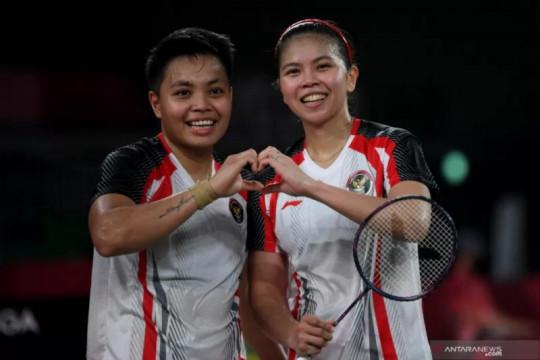 Greysia/Apriyani sabet medali emas di Olimpiade Tokyo