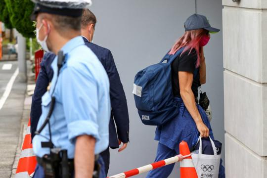 Atlet Krystsina Tsimanouskaya tinggalkan Jepang untuk berlindung di Polandia