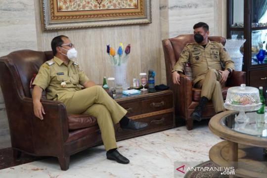 Bupati Gowa temui Wali Kota Makassar untuk selaraskan PPKM