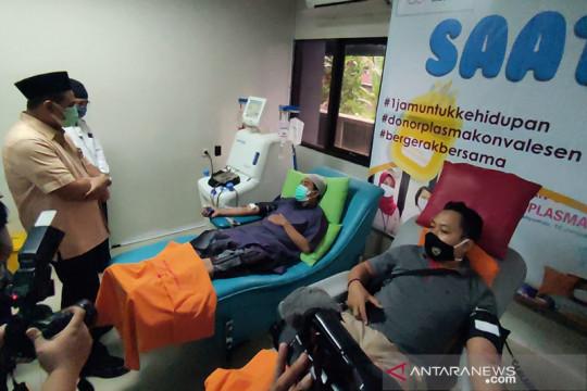 Wagub Jateng dorong penyintas COVID untuk donor plasma konvalesen