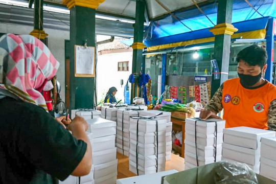 Anggaran bantuan makanan bagi warga yang jalani isolasi mandiri di Kota Yogyakarta ditambah