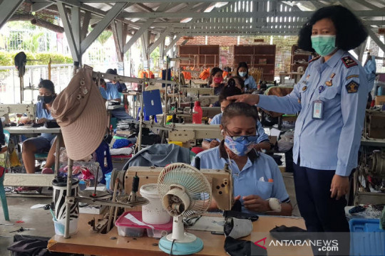 Lapas Perempuan Semarang siap hasilkan mantan napi siap  kerja