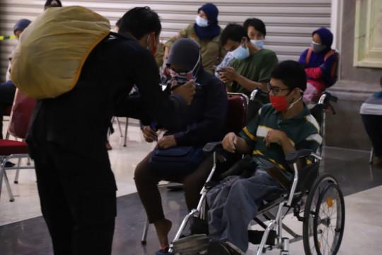 Polda DIY-Dinas Sosial Sleman menggelar vaksinasi bagi disabilitas