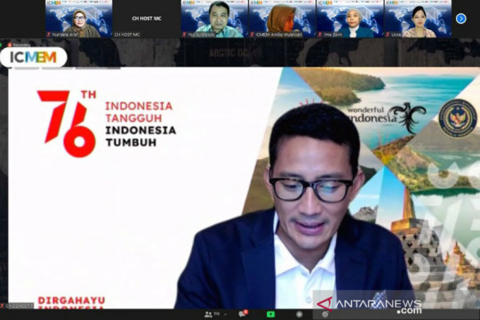 Menteri Sandiaga: Pariwisata akan pulih dengan optimalkan digitalisasi