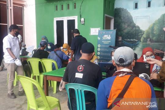 DPW PKB Babel gelar vaksinasi massal di Bangka Tengah