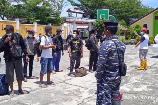 18 orang pekerja pembangunan Pelabuhan Tanjung Ular positif COVID-19