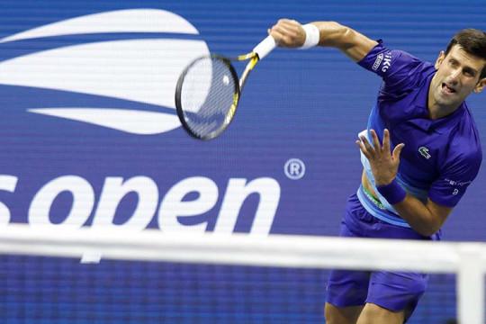 Novak Djokovic lalui liga sulit di babak pertama US Open 2021
