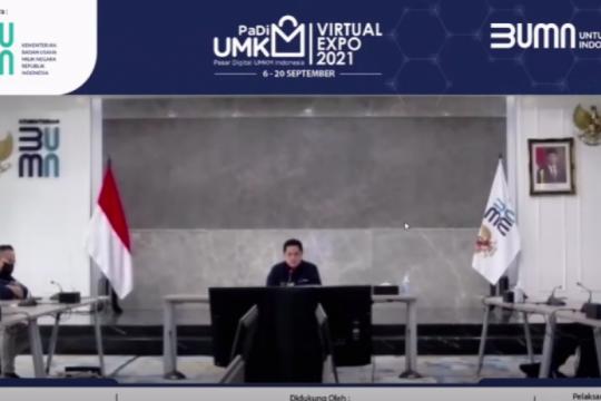 Menteri BUMN: padi sebagai jalan UMKM naik kelas