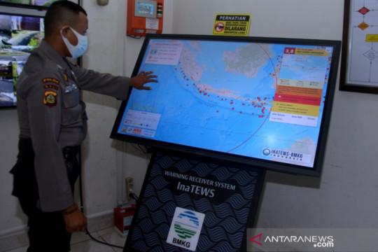 Gempa dengan magnitudo (M) 5,4 mengguncang Sulawesi Utara