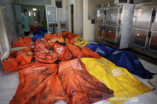 41 narapidana meninggal dalam peristiwa kebakaran lapas