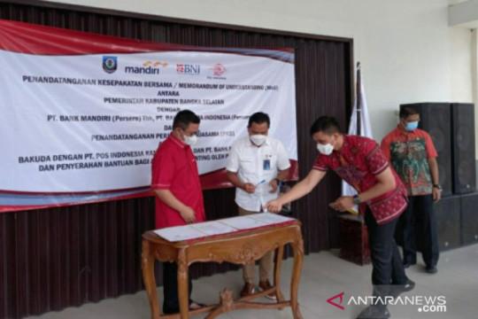 Pemkab Bangka Selatan jalin kerjasama dengan Bank Mandiri dan BNI