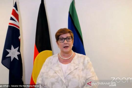 Menlu Australia sebut kemitraan dengan Indonesia perlu dilanjutkan