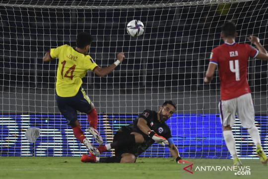 Kolombia menang 3-1 atas Chile