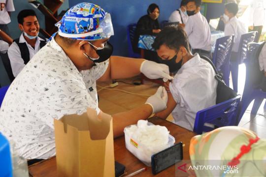 Dinkes: 2.431 remaja di Belitung Timur sudah divaksinasi COVID-19