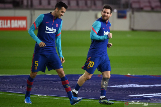 Tanpa Leo Messi, Busquets yakin Barca masih bisa juara Liga Champions