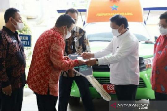 Pemkab Bangka Selatan terima mobil Pusling dari Perpustakaan Nasional
