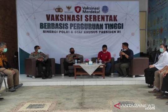 Universitas Bangka Belitung masifkan vaksinasi menjelang PTM