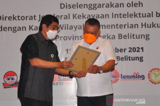 Sebanyak 13 kekayaan intelektual Belitung Timur dapat pengakuan