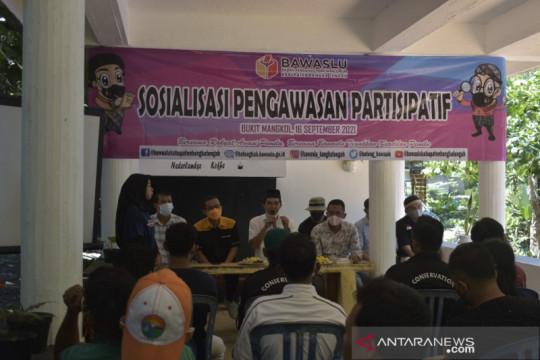Bawaslu gencarkan sosialisasi pengawasan partisipatif di Bangka Tengah