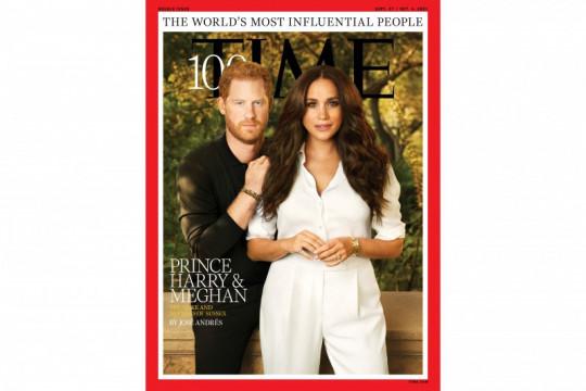 Harry dan Meghan masuk daftar 100 orang berpengaruh versi majalah Time