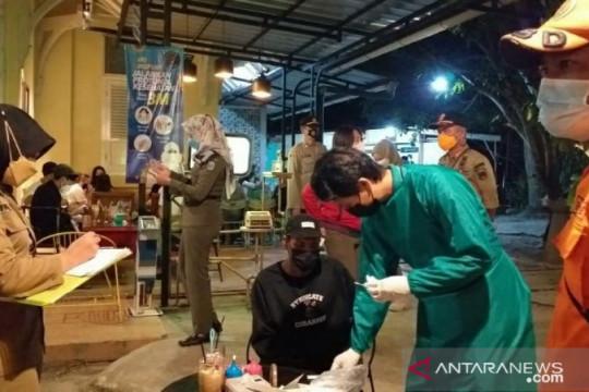 Tim yustisi Belitung maksimalkan operasi penegakan protokol kesehatan
