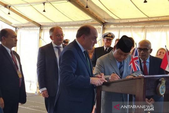 Kontrak kerja sama pembuatan kapal fregat TNI AL ditandatangani di London