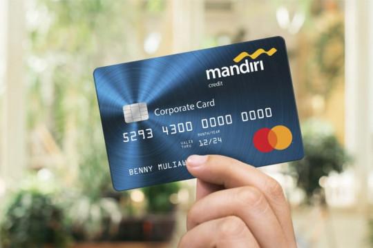 Bank Mandiri gandeng Mastercard siapkan produk kartu kredit bagi pelaku UKM