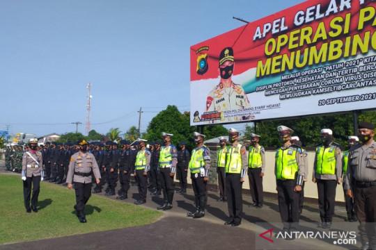 Polres Belitung gelar Operasi Patuh Menumbing 2021