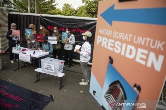 Aksi anti korupsi di Jakarta