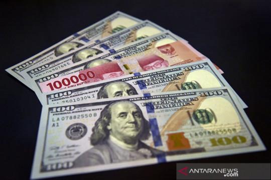 Dolar Rabu pagi melemah dari tertinggi satu bulan