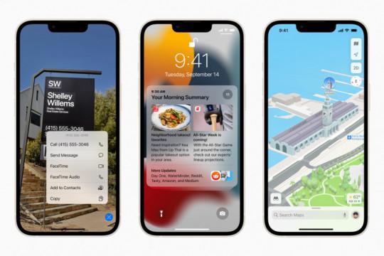 Sederet pembaruan iOS 15 untuk iPhone