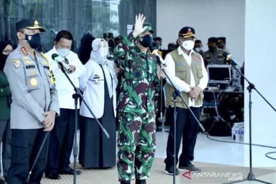 Panglima TNI siap bantu percepatan vaksinasi COVID-19 di Lampung