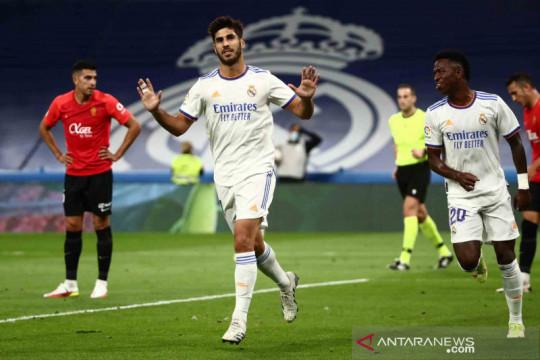 Marco Asensio cetak tiga gol  saat Madrid tundukkan Real Mallorca