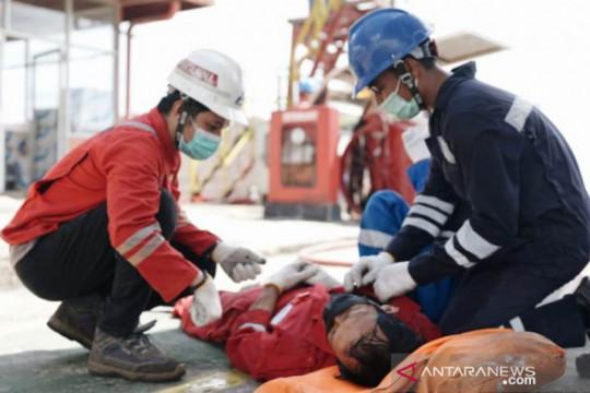 Pertamina Sumbagsel beri pelatihan atasi keadaan darurat gempa-tsunami