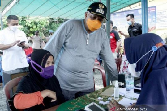 Satgas Bangka Barat: 46,75 persen warga sasaran telah terima vaksin dosis 1