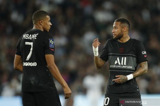 Pochettino bantah adanya perseteruan antara Mbappe dan Neymar