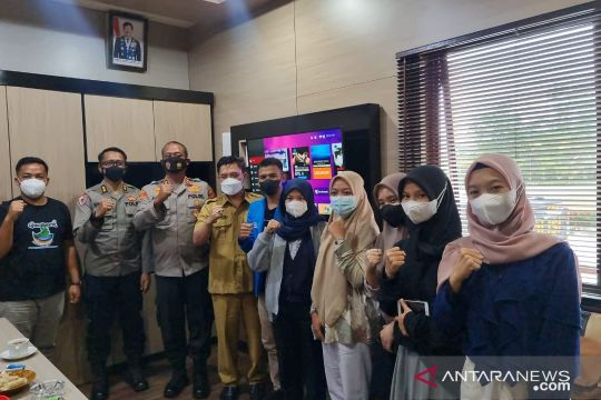Polres Bangka Barat gandeng mahasiswa edukasi vaksinasi COVID-19