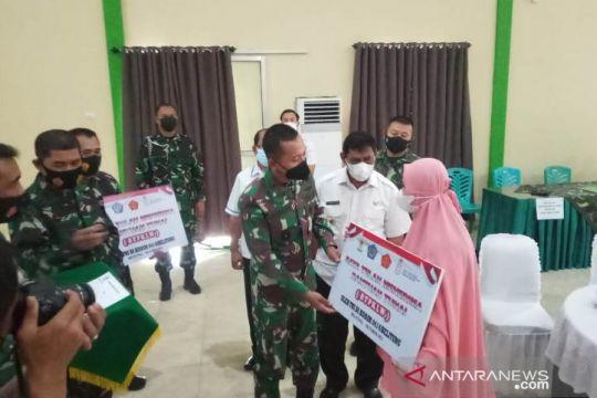 1.328 PKL dan warung di Belitung dan Belitung Timur menerima bantuan tunai