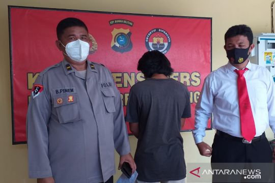 Polres Belitung amankan pelaku penipuan modus gadai mobil rental