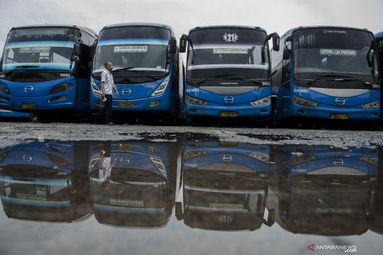 Perum Damri mulai hentikan sebagian operasionalnya di Bandung Raya